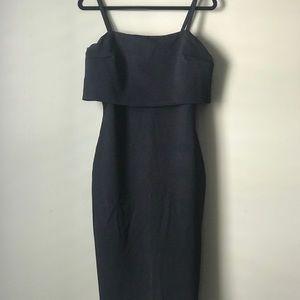 A black sexy dress